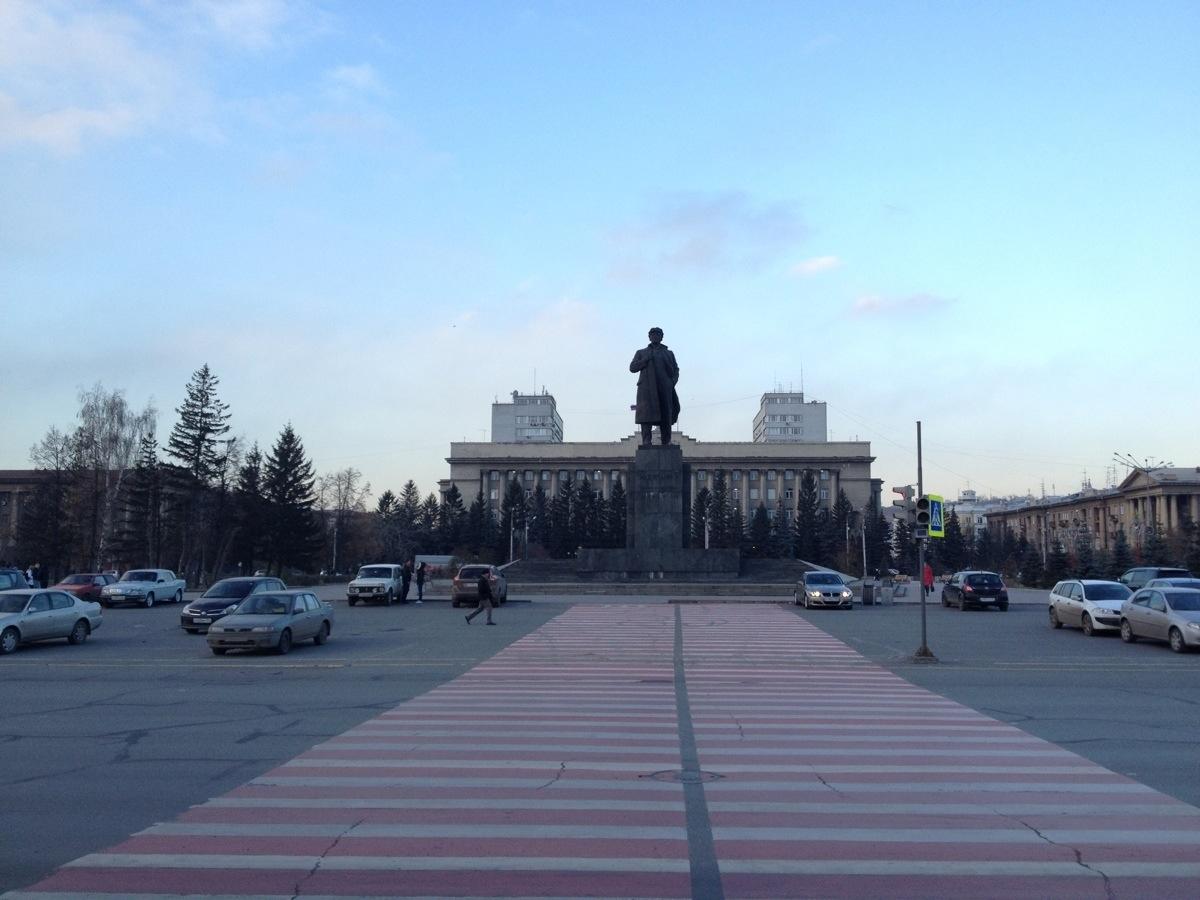 Lenin in Krasnoyarsk