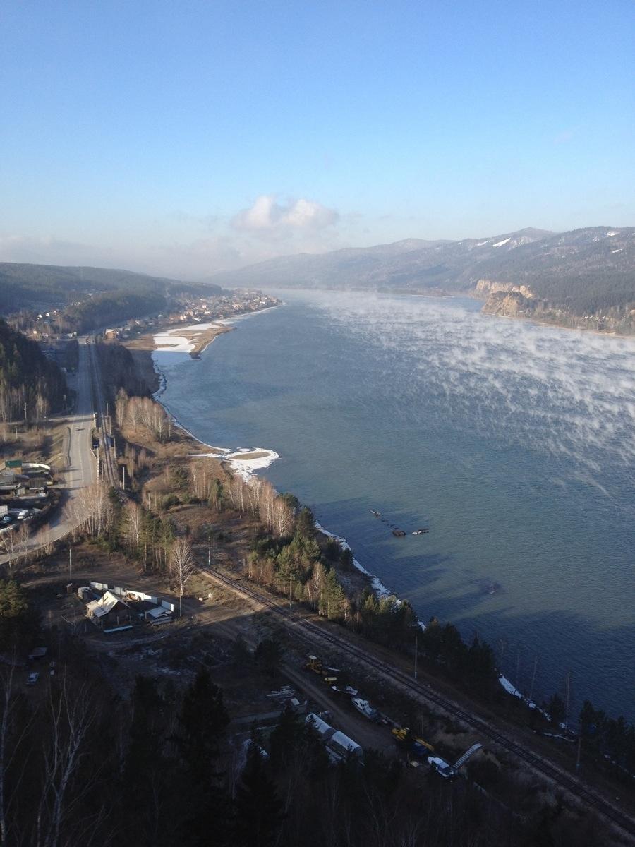 Jenisej richting Ovsyanka
