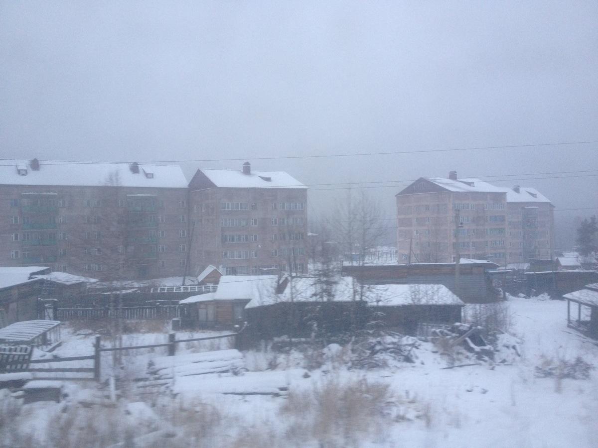 Nieuwbouw in Oost Siberie