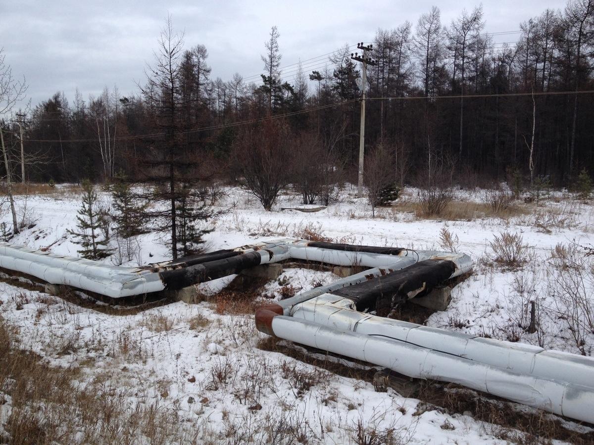 Siberian Pipeline