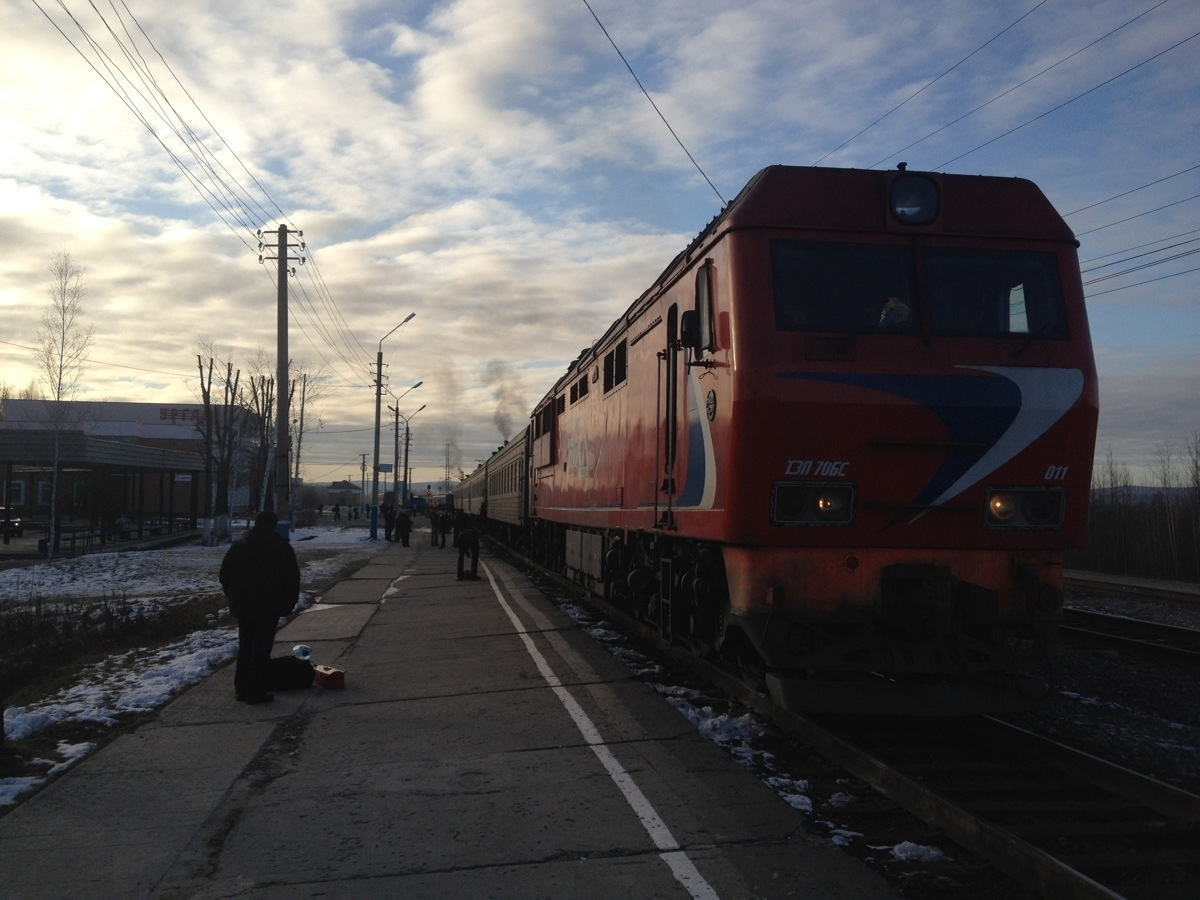 BAM Express train 364 at Novy Urgal