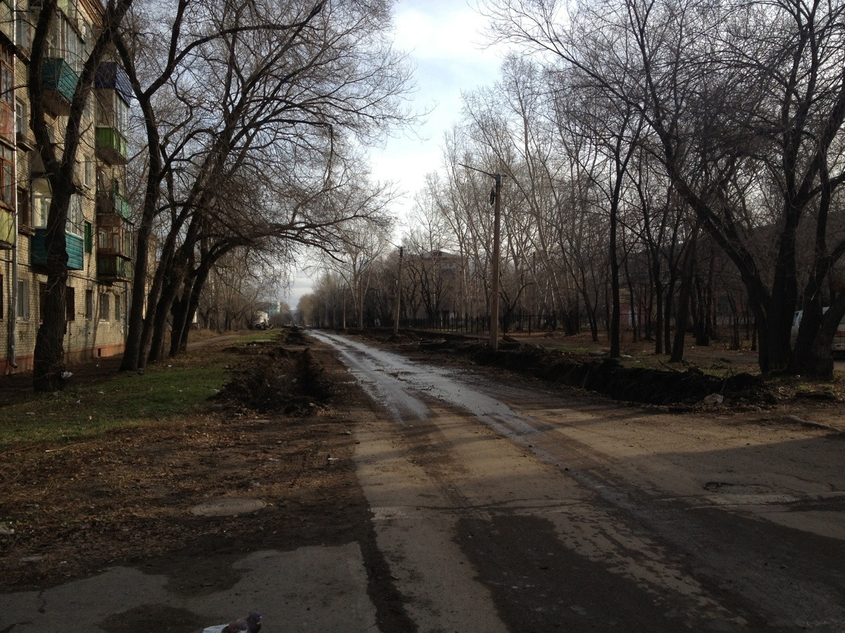 Komsomolsk na Amure Street