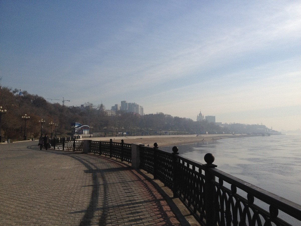 City Beach of Khabarovsk
