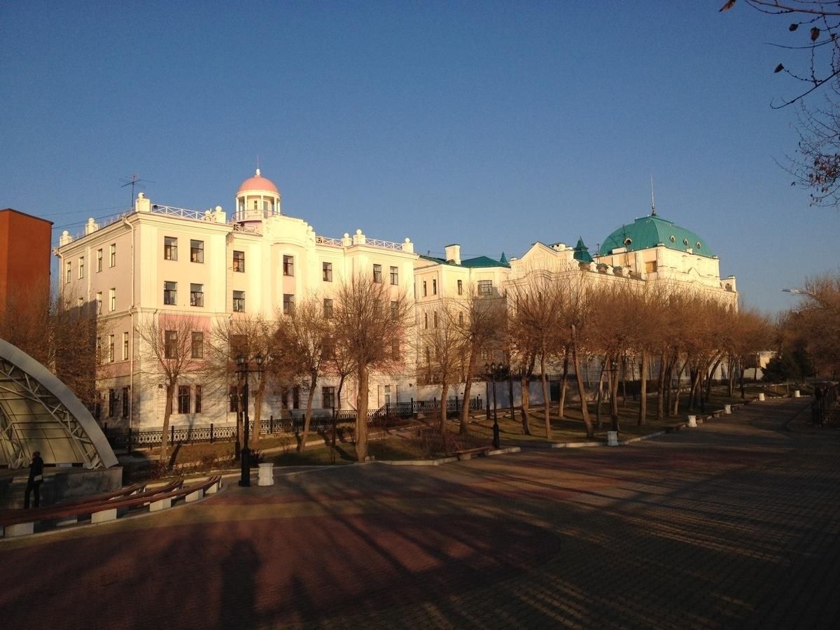 Museums in Khabarovsk on the Shevchenko street
